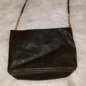 BOTTEGA VENETA textured leather bucket bag
